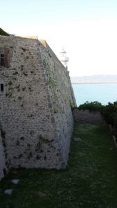 Vista faro della Rocca di Porto Ercole
