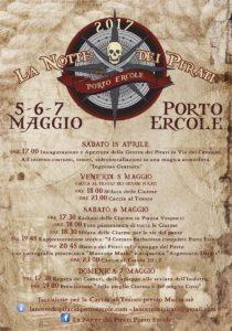 Manifesto Notte dei Pirati 2017