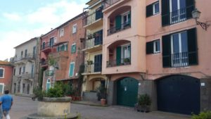 Palazzi in Piazza Santa Barbara - Borgo Antico Porto Ercole