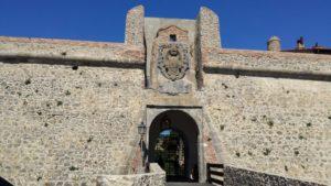 Portale ingresso Forte La Rocca