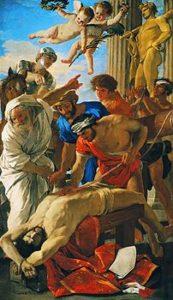 Il Martirio di Sant'Erasmo - Nicolas_Poussin