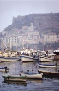 Zaccarelle al molo di Porto Ercole