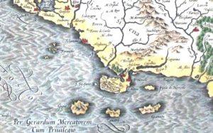 """Di <a href=""""//it.wikipedia.org/wiki/Gerardo_Mercatore"""" title=""""Gerardo Mercatore"""">Gerardo Mercatore</a> - Mappa di Zanara, <a href=""""//it.wikipedia.org/wiki/File:Zanara_nella_carta_del_1589_di_Gerardo_Mercatore.jpg"""" title=""""Questo file è nel pubblico dominio in quanto il suo copyright è scaduto."""">Pubblico dominio</a>, <a href=""""https://it.wikipedia.org/w/index.php?curid=6412348"""">Collegamento</a>"""